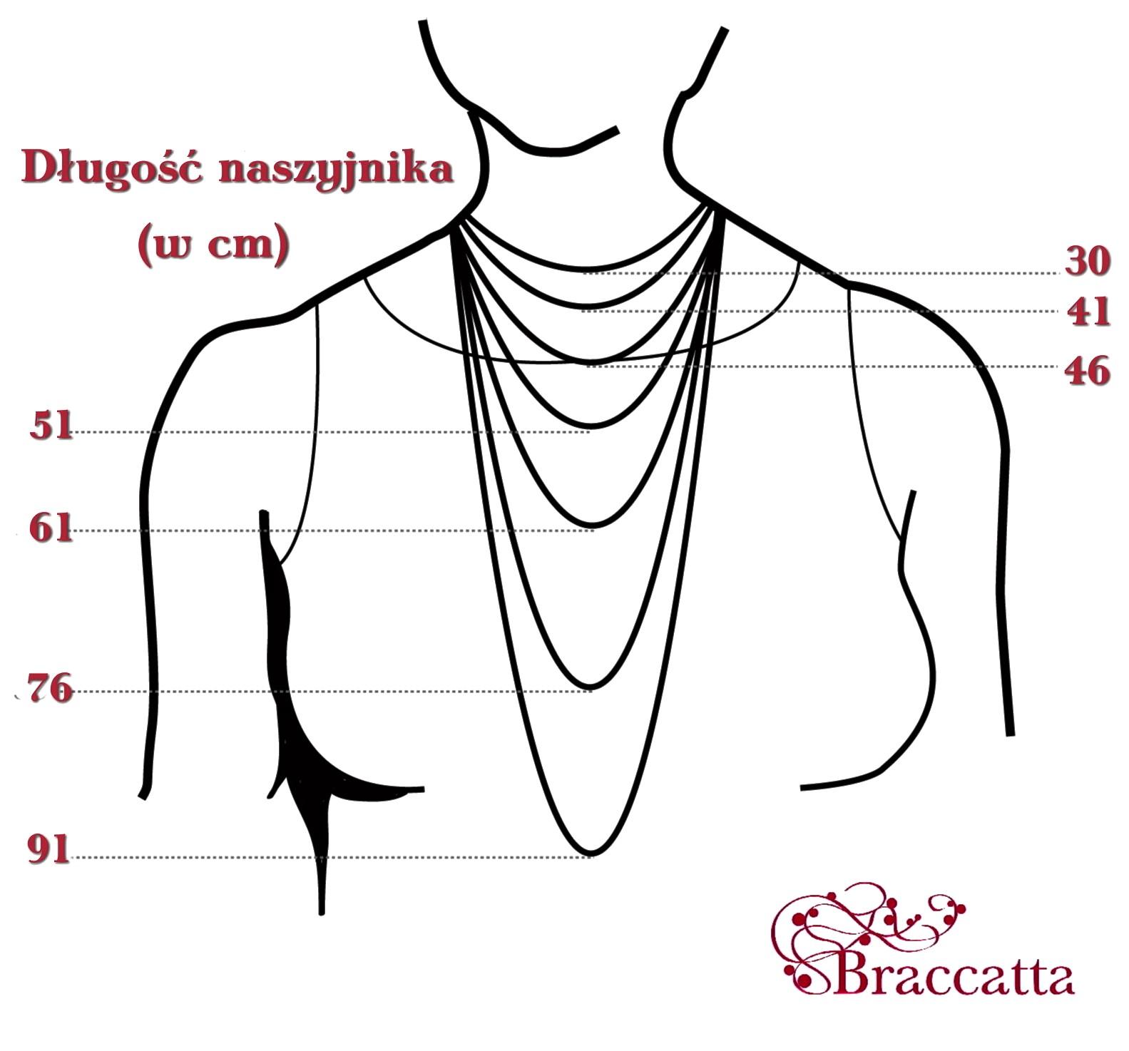 sklep Braccatta - dlugosc naszyjnika