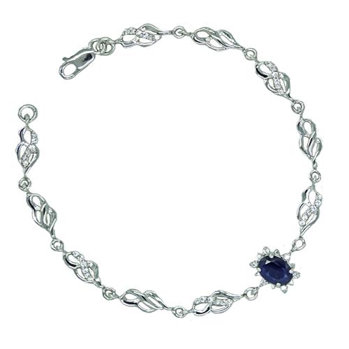 4b5e6535b9  bransoletka srebrna z dużym szafirem kate front    bransoletka srebrna z duzym szafirem kate stylizacja    bransoletka srebrna z duzym szafirem kate bok